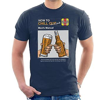 Haynes How To Chill Out In A Pub Men's T-Shirt