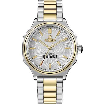 Vivienne Westwood Watches Vv227slgd Mile End Gold & Silver Stainless Steel Men's Watch