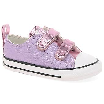 Converse All Star 2V Girls Infant Canvas Shoes