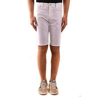 Moschino Ezbc015131 Men's White Cotton Shorts
