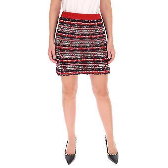 Thom Browne Fkk049a06074960 Women's Red Wool Skirt