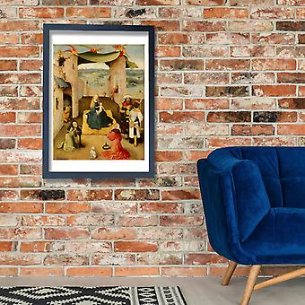Hieronymus Bosch - Adoration of the Magi Poster Print Giclee