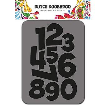 Dutch Doobadoo Foam stamps Numbers 494.902.002 75x96mm