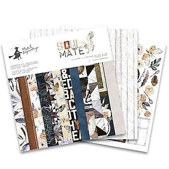 """Piatek13 12""""x12"""" Paper Pad – Soulmate, 12 Sheets"""