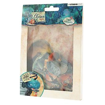 Studio Light Easy Die Cut Paper Set nr 650 Ocean View EASYOV650