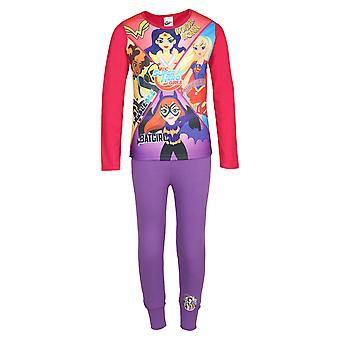 DC Comics Superhero Girls Official Gift Kids Pyjamas