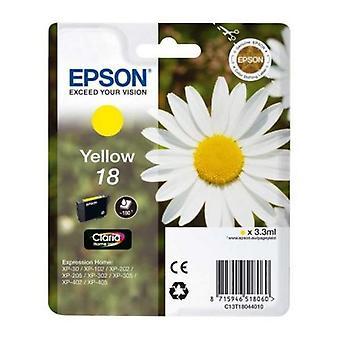Opprinnelige blekkpatron Epson C13T18044010 gul