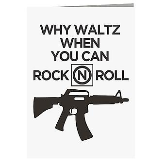 The Lost Boys Why Waltz When You Can Rock N Roll Greeting Card