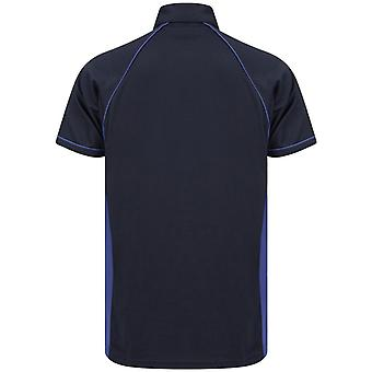 Finden and Hales Mens Performance Piped Polo Shirt