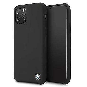 BMW Plain Backcover Case iPhone 11 Pro - Schwarz