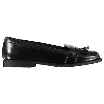 Kangol Kids Childrens Layla Leather Casual Loafers Slip On Shoes