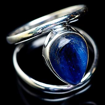 Kyanite Ring Size 9.75 (925 Sterling Silver)  - Handmade Boho Vintage Jewelry RING5830