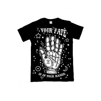 Twisted Apparel Your Fate Palmistry T-Shirt