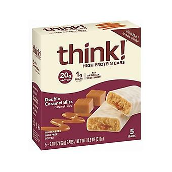 Think Thin High Protein Bars Double Caramel Bliss