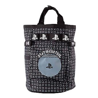 Playstation Backpack Stay in Control Logo new Official Black Unisex