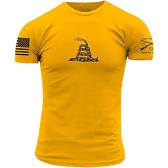 Grunt Style Gadsden Camiseta Básica - Ouro