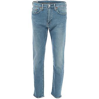 Men's Levis 502 Taper Jeans in Blauw
