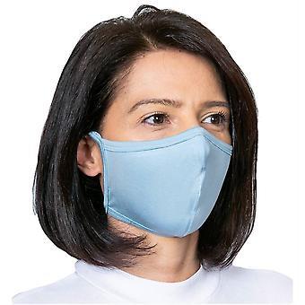 Obviously Tie Face Mask - Navy