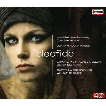 J.a. Hasse - Johann Adolf Hasse: Cleofide [CD] USA import