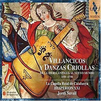 La Capella Reial De Catalunya & Jordi Savall - Villancicos Y Danzas Criollas [CD] USA import