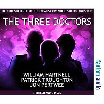 The Three Doctors William Hartnell Patrick Troughton and Jon Pertwee by Pertwee & JonTroughton & MichaelCarney & Jessica