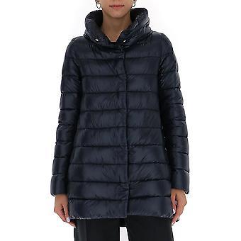 Herno Pi0505dic120179200 Dames's Blue Nylon Down Jacket