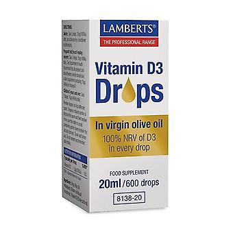 Vitamin D3 (drops) 20 ml