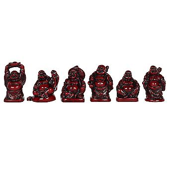 Something Different Resin Buddha Ornaments (Set of 6)