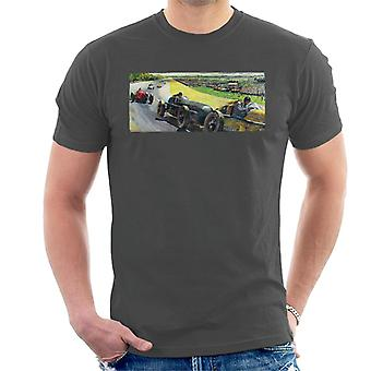 The Saturday Evening Post Vintage Race Car Peter Helck Men's T-Shirt