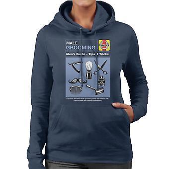 Haynes Male Grooming Tips And Tricks Women's Hooded Sweatshirt