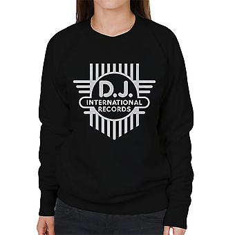 DJ International Classic Cross Logo Women's Sweatshirt
