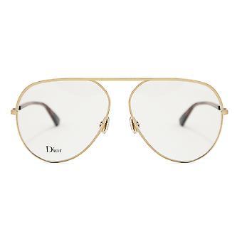 Christian Dior Aviator Glasses Essence 15 J5G12 58
