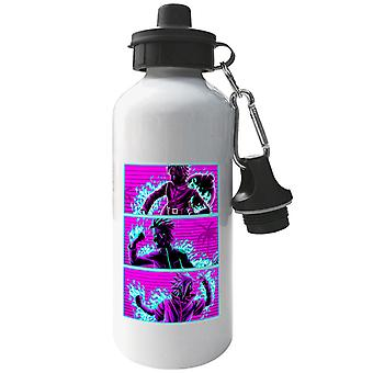 Retro Wave Naruto Team Aluminium Sports Water Bottle