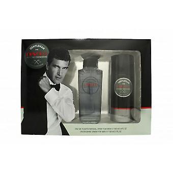 Antonio Banderas Diavolo Gentleman Giftset 100ml EDT + 150ml Desodorante Spray
