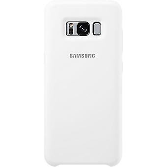 Samsung SiliKon Cover EF-PG955 blanc pour Samsung G955F S8 Plus