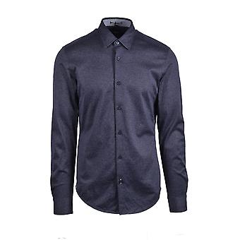 BOSS Casualwear Boss Ronni_53f Long Sleeved Shirt Dark Blue
