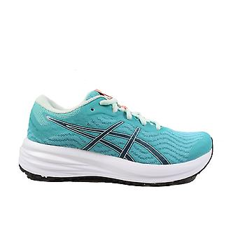 Asics Patriot 12 Cyan/Blue Mesh Womens Lace Up Running Trainers