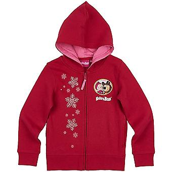 Masha and the bear girls sweatjacket hoodie mtb8711swj