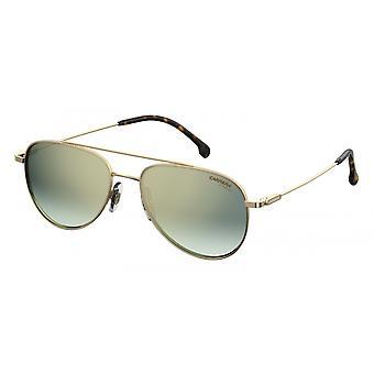 Sunglasses Unisex 187/S gold with green glass medium
