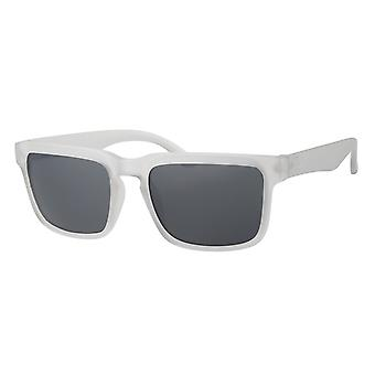 Sunglasses Men's Kat. 3 white with grey lens (A 20211)