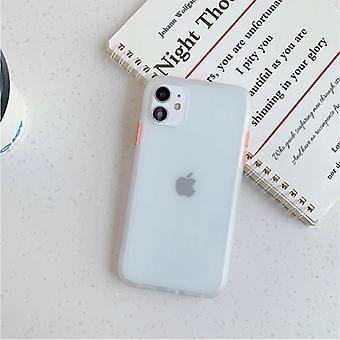 スタッフ認定®iPhone 6SプラスバンパーケースケースカバーシリコーンTPUアンチショックトランスペアレント
