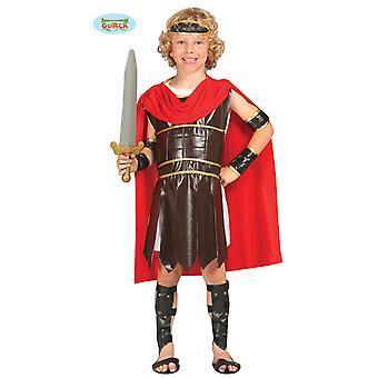 Traje de Roman Legionary para soldado centurião de carnaval de crianças
