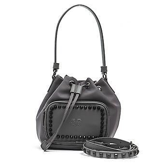 Gray italian shoulder bag - n18_gray 19v69 italia
