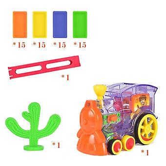 New Arrival Domino Game Toy Set Domino Train For Children