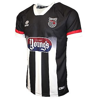 2020-2021 Grimsby Town Errea Home Football Shirt