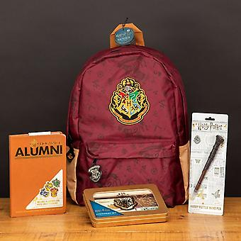 Harry Potter Back to School Hogwarts Backpack with Stationery Set Included