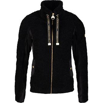 Barbour International Shearling Zip Through Sweat