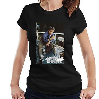 Casa de animales John Bluto Blutarsky Bebiendo Mujeres's Camiseta