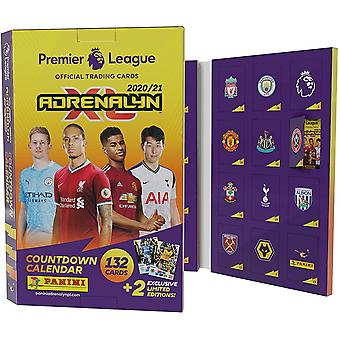 Premier League 2020/21 Adrenalyn XL Countdown adventskalender