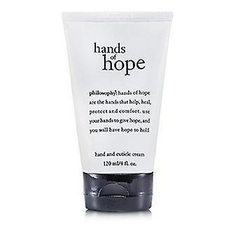 Hands Of Hope Käsi ja cuticle kerma 120ml tai 4oz